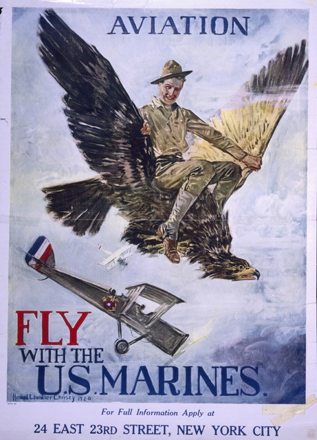Marine Corps Aviation Recruiting Poster