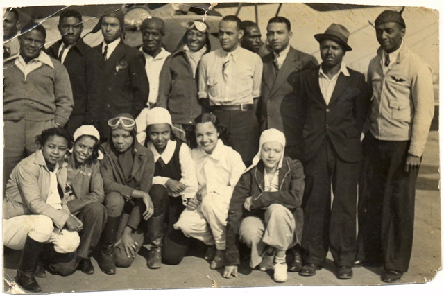 Bessie Coleman Aero Club and William Powell