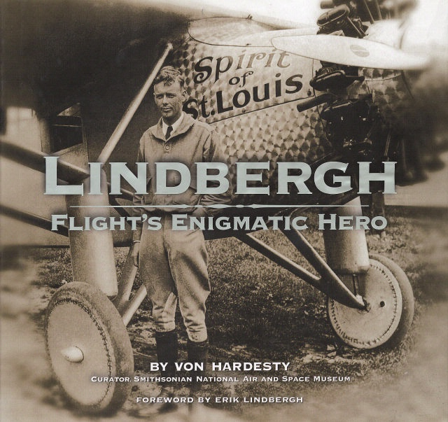 Book Cover: Lindbergh, Flight's Enigmatic Hero