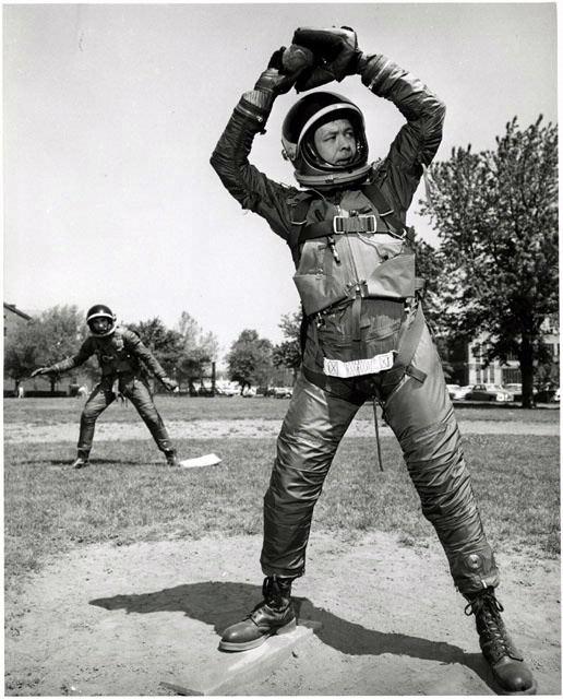 B.F. Goodrich Mark IV Spacesuit