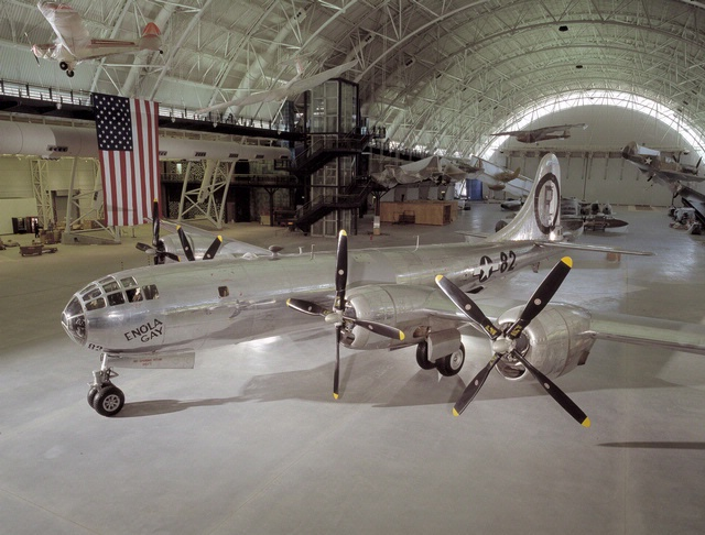 B-29 <em>Enola Gay</em> at Steven F. Udvar-Hazy Center