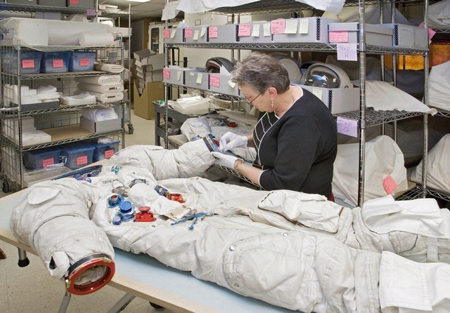 Preservation and Storage of Space Suits