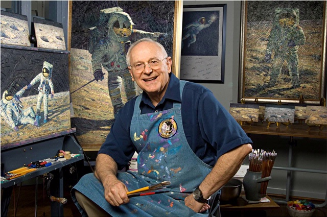 Meet Apollo 12 astronaut Alan Bean at Countdown to the Moon Day.