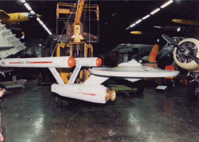 "Star Trek Starship ""Enterprise"" Model Restoration #3"
