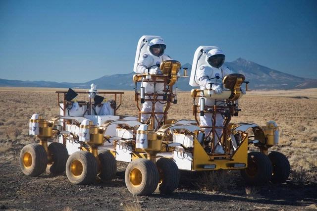 Lunar Vehicle NASA Rats - Pics about space