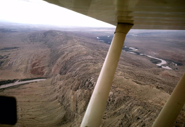 Sheep Mountain is a thrust fault structure in the Big Horn Basin of Wyoming