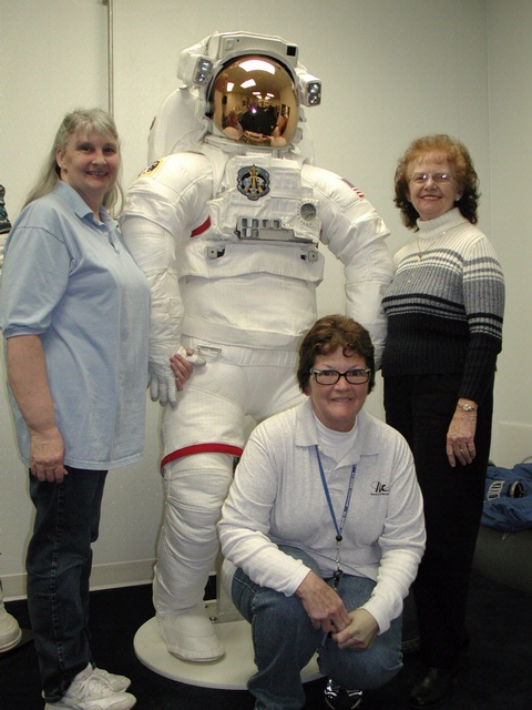 Space Suit and ILC Seamstresses