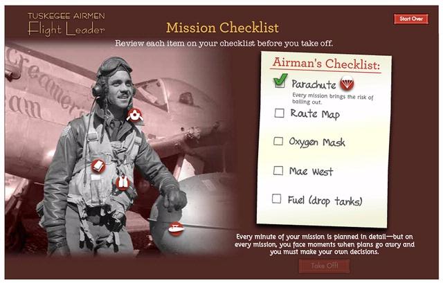 Tuskegee Airmen Interactive