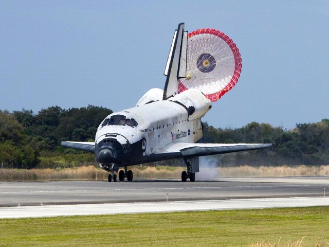space shuttle bounced landing - photo #27