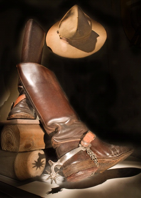 "Brig. Gen. William ""Billy"" Michell's Hat and Boots"