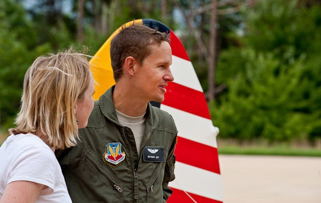 Captain Matt and Tina Quy