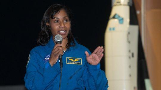 NASA Astronaut Stephanie Wilson