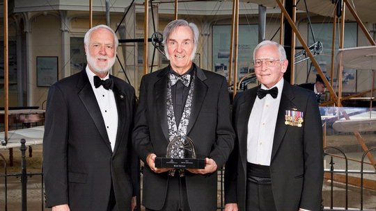 Trophy Lifetime Achievement Winner 2012 - Burt Rutan