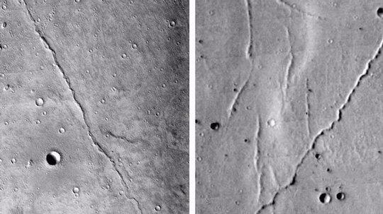 Martian Shorelines