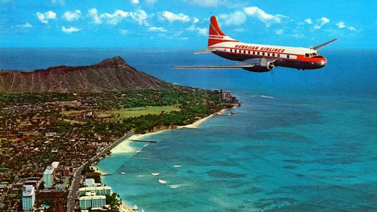 Hawiian Airlines Convair 340