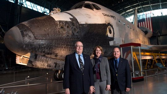 "National Air and Space Society Lecture ""Space Shuttle Memories"""