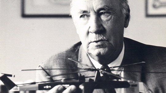 Igor Sikorsky, inventor of the practical helicopter