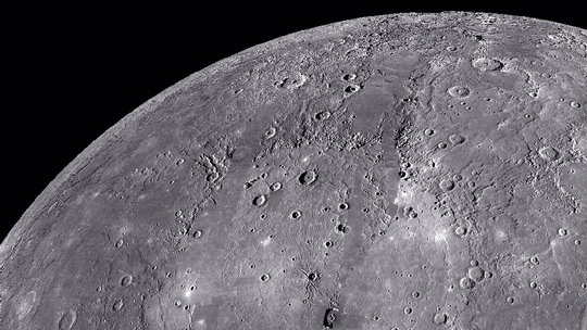 Mercury's Surface Features   Exploring the Planets