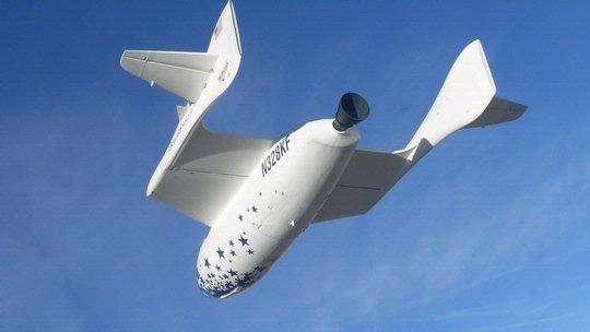 SpaceShipOne Gliding