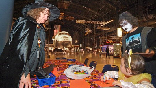 Air & Scare at the Udvar-Hazy Center