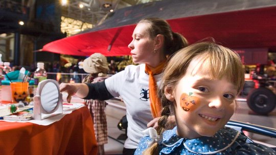 Air & Scare at the Steven F. Udvar-Hazy Center