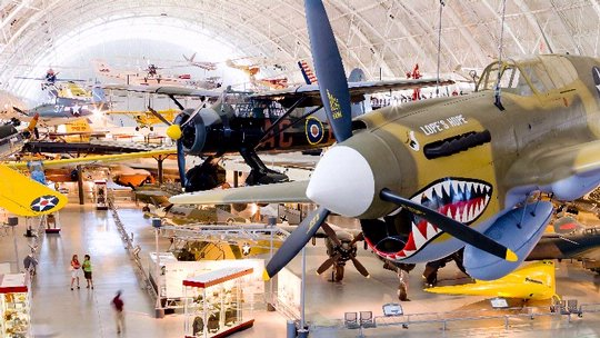 Boeing Aviation Hangar at the Steven F. Udvar-Hazy Center