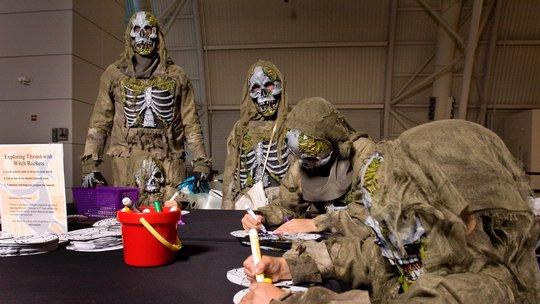 Air & Scare at the Steven F. Udvar-Hazy Center