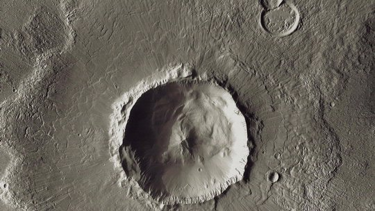 Bacolor Crater, Mars