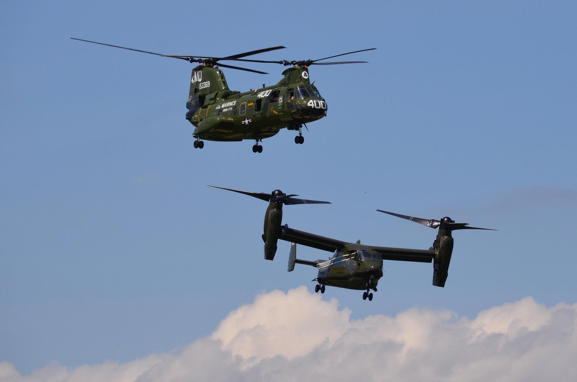 Miscellaneous Parts, Boeing-Vertol CH-46E Sea Knight