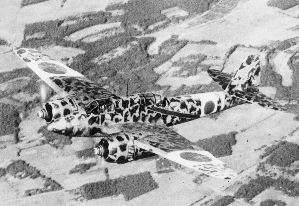 Image of : Kawasaki Ki-45 Kai Hei (Mod. C) Type 2 Toryu (Dragon Killer) NICK
