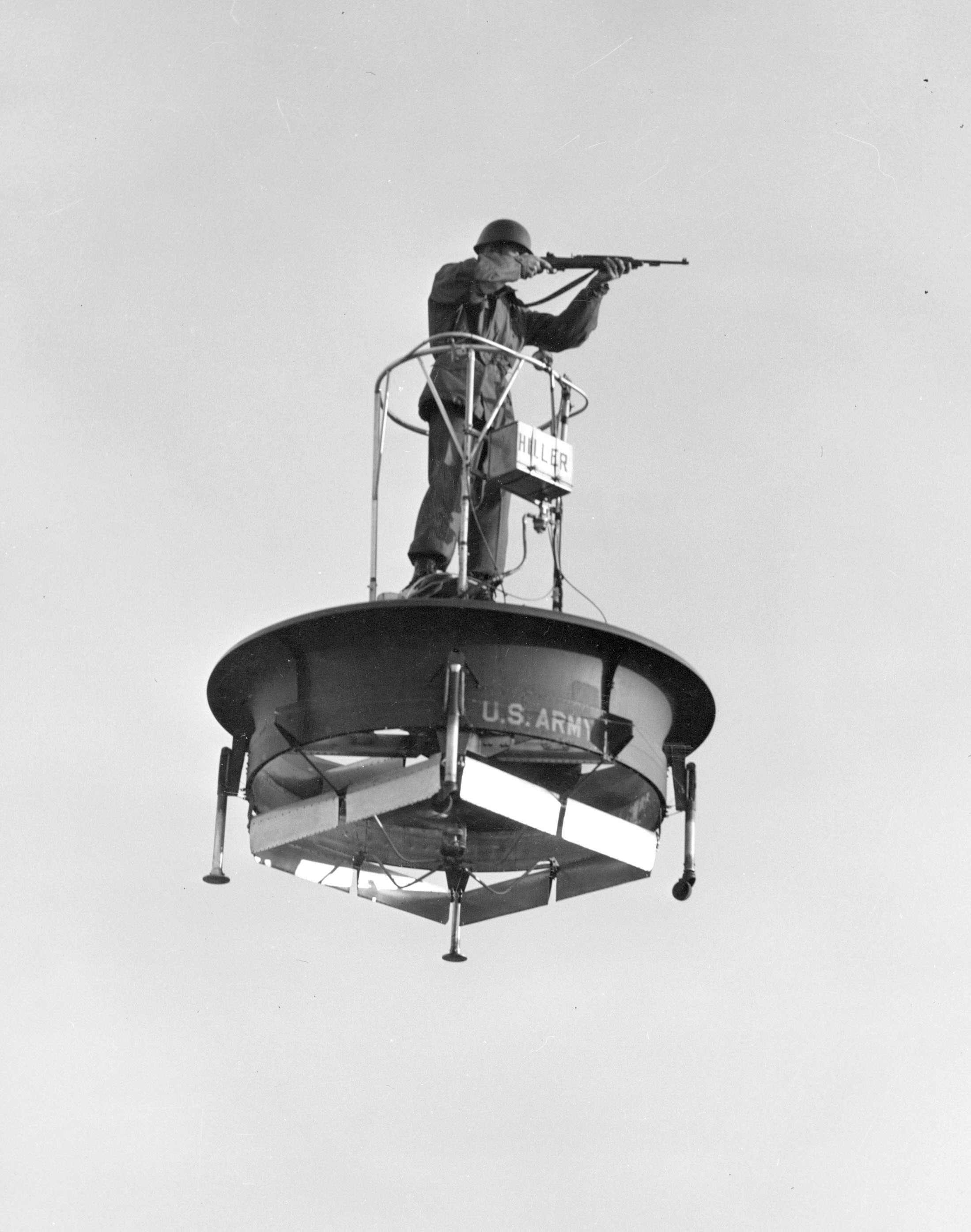 Image of : Hiller Model 1031-A-1 Flying Platform