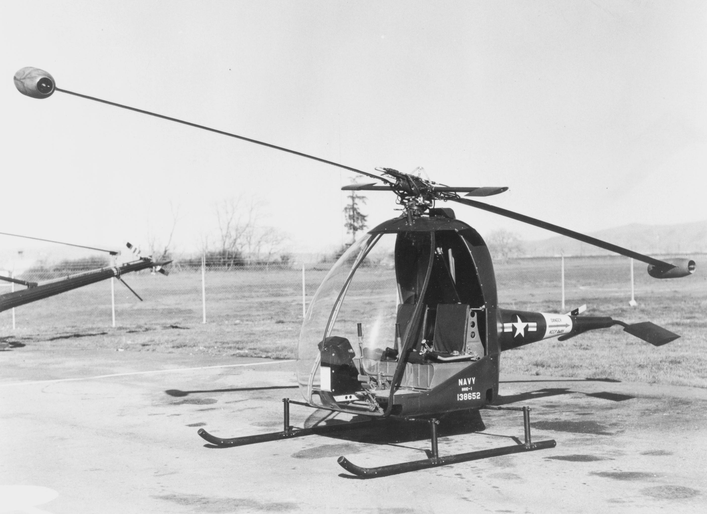 Image of : Hiller XHOE-1 Hornet