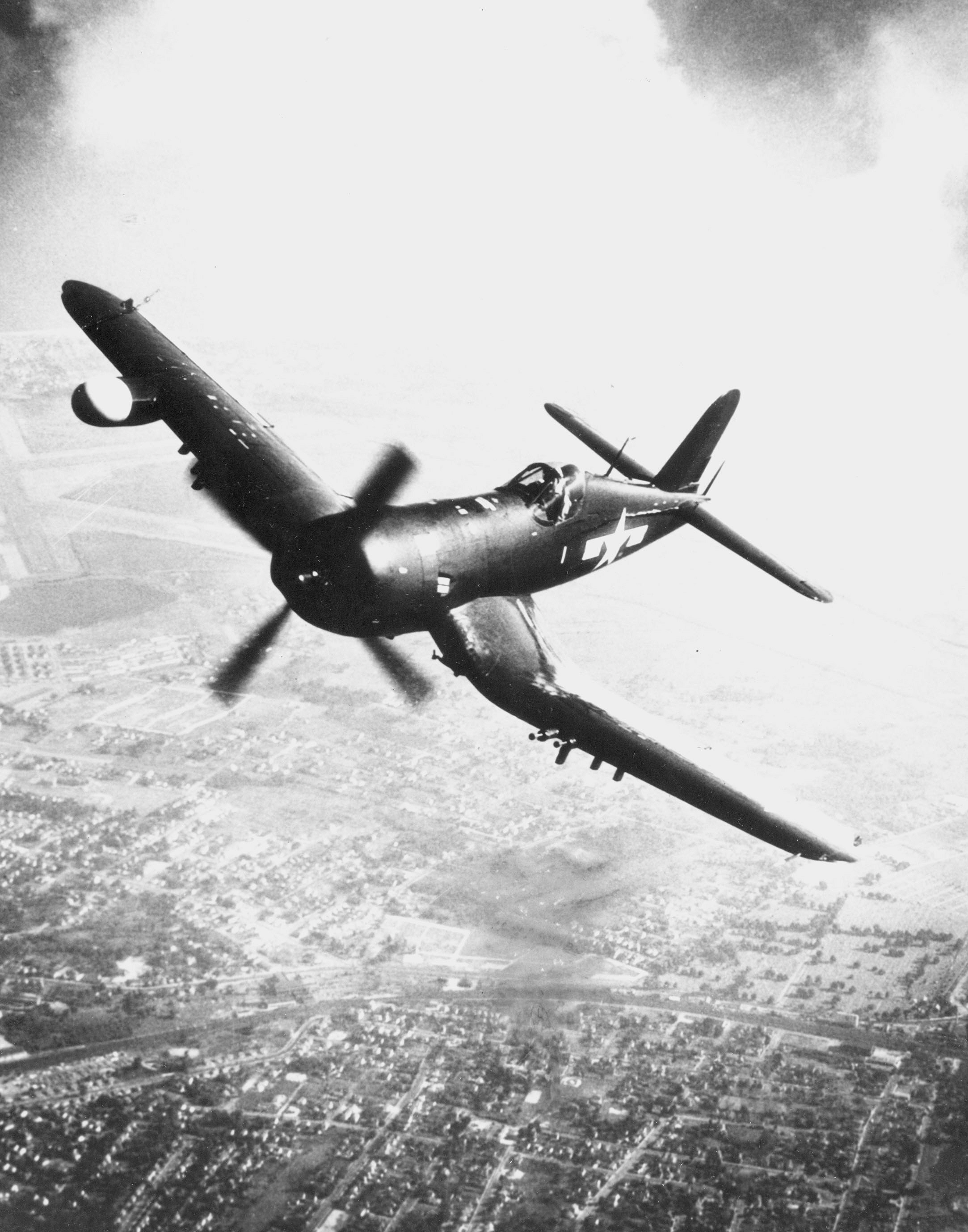 Image of : Vought F4U-1D Corsair
