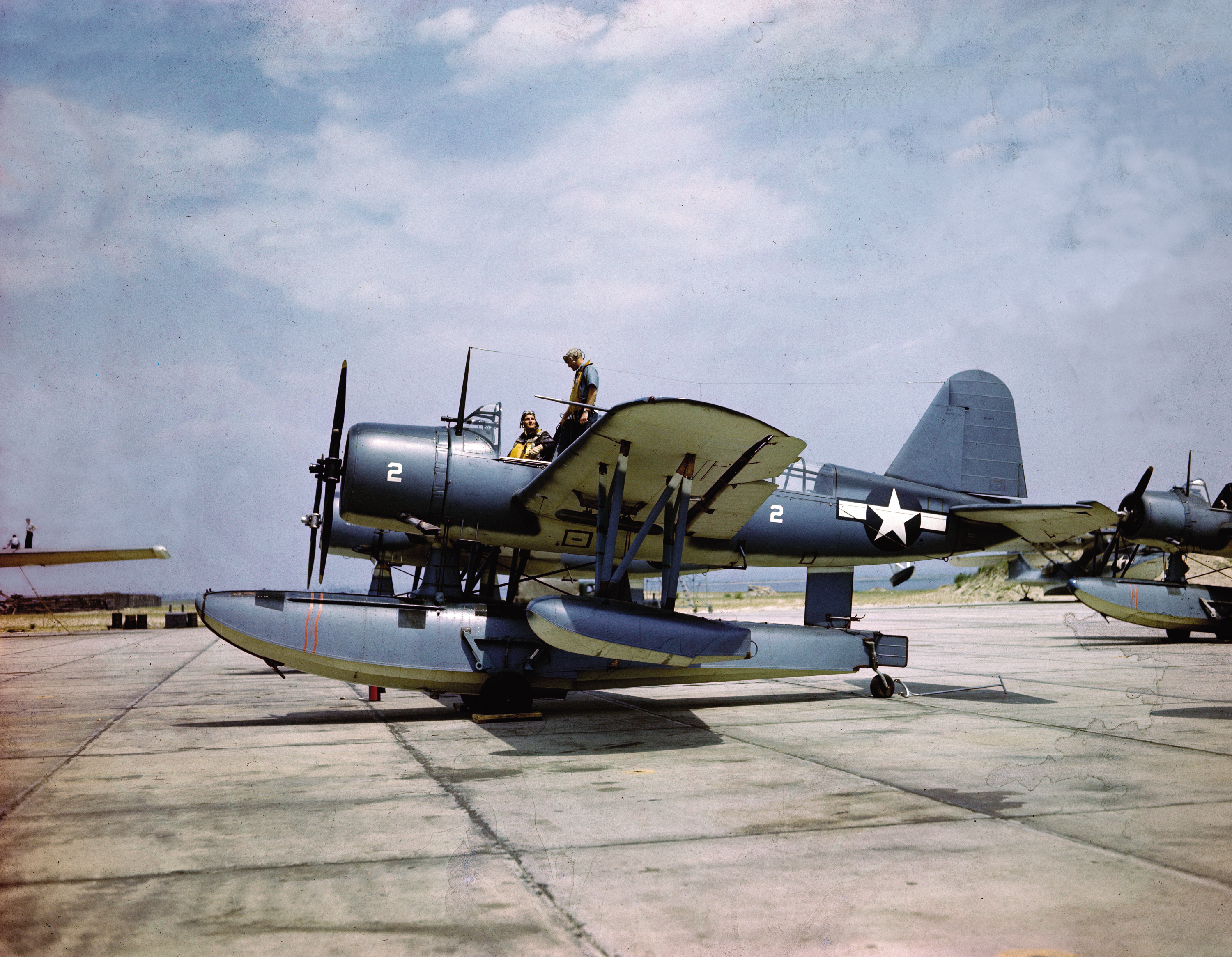 Image of : Vought OS2U-3 Kingfisher