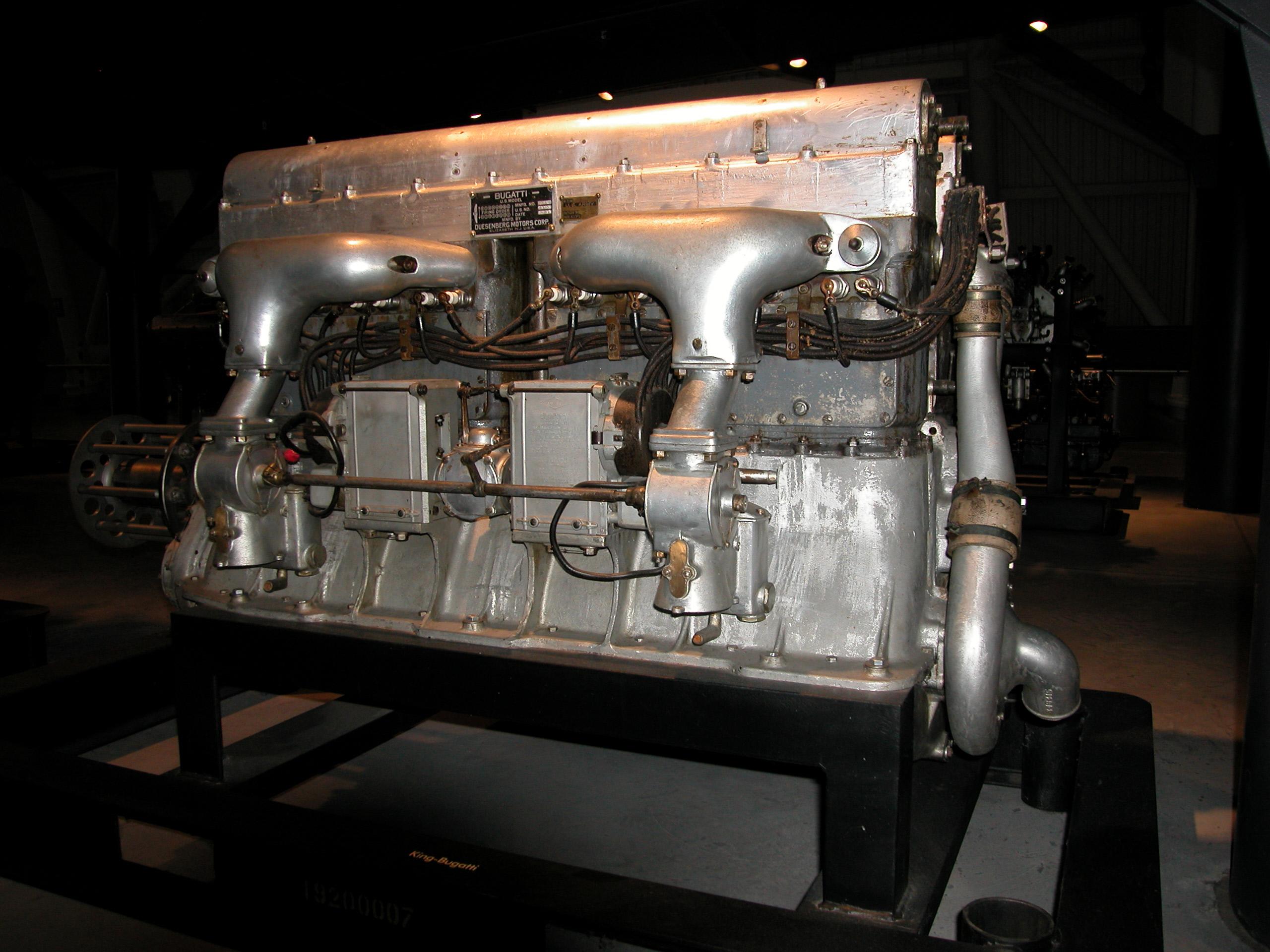 Image of : King-Bugatti U-16 Engine