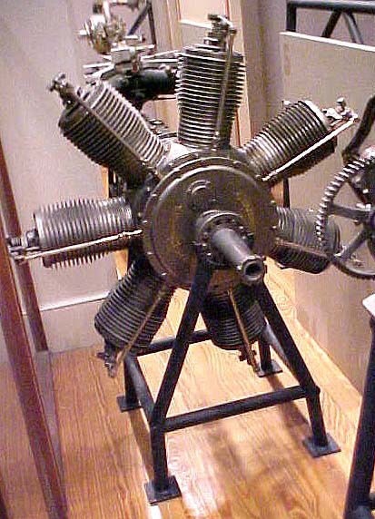 Image of : Hendee Indian Rotary 7 Engine