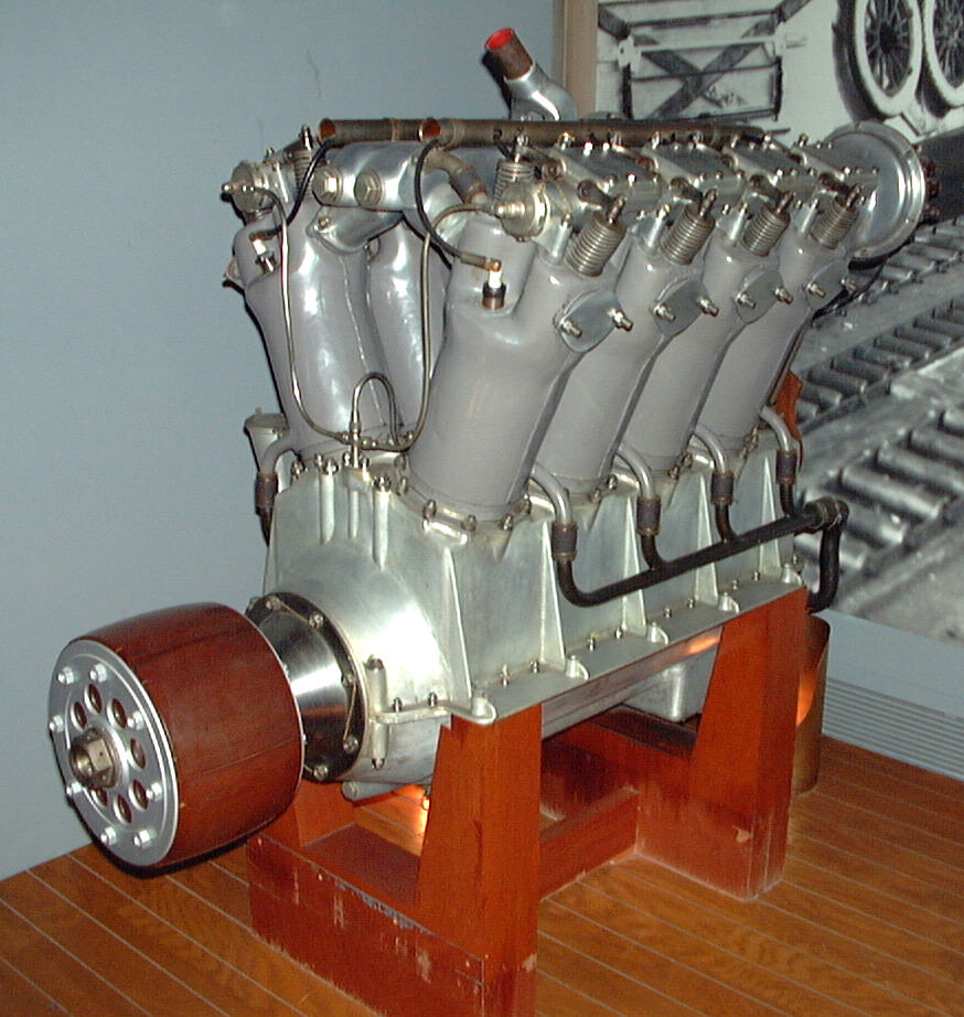 Image of : Liberty L-8 (Packard) V-8 Engine