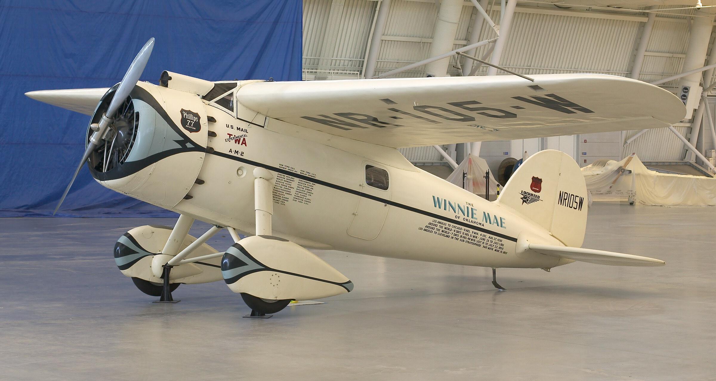 Image of : Lockheed Vega Winnie Mae