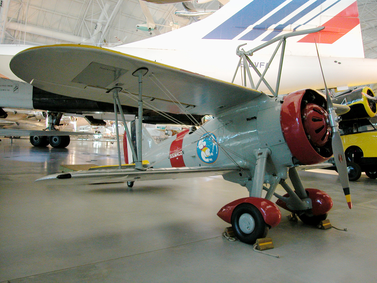 Image of : Curtiss F9C-2 Sparrowhawk