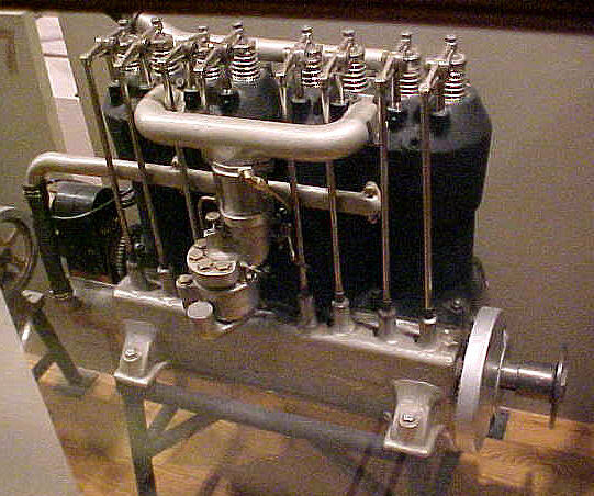 Image of : Maximotor B-4 Engine, In-line 4 Engine