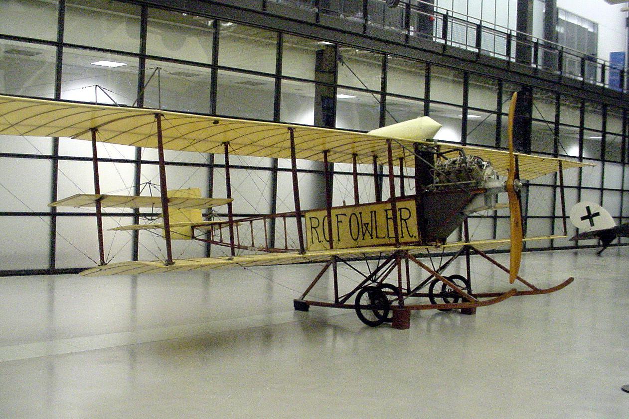 Image of : Fowler-Gage Biplane