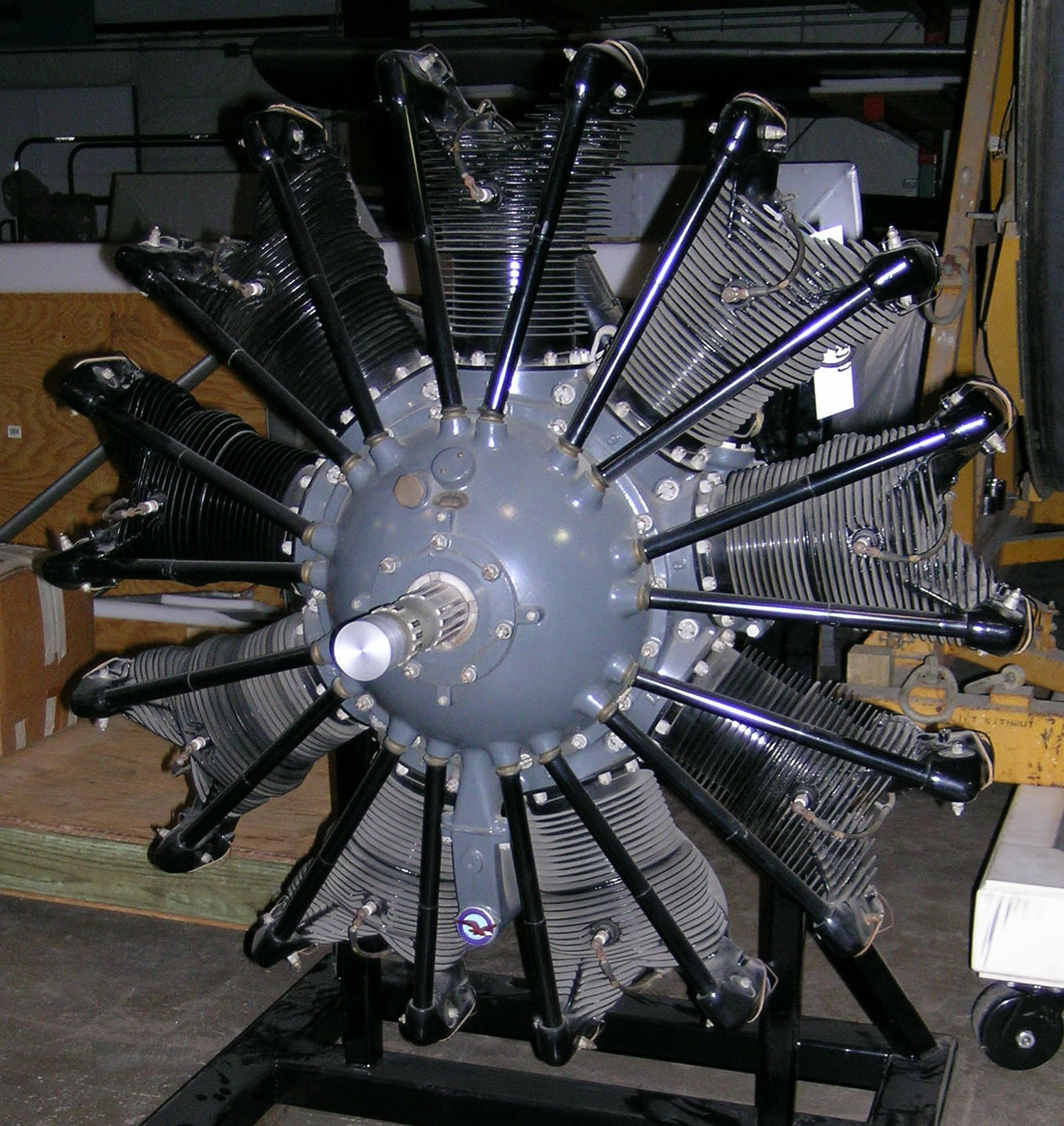 Pratt & Whitney Wasp A, R-1300 (R-1340), Radial 9 Engine ...