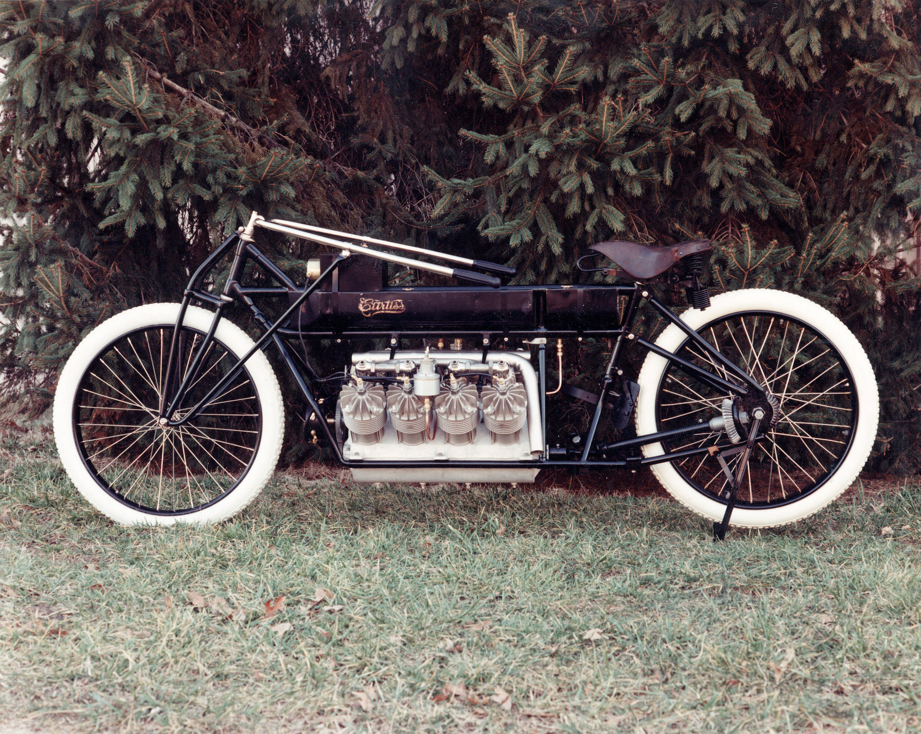 Image of : Motorcycle, Curtiss V-8