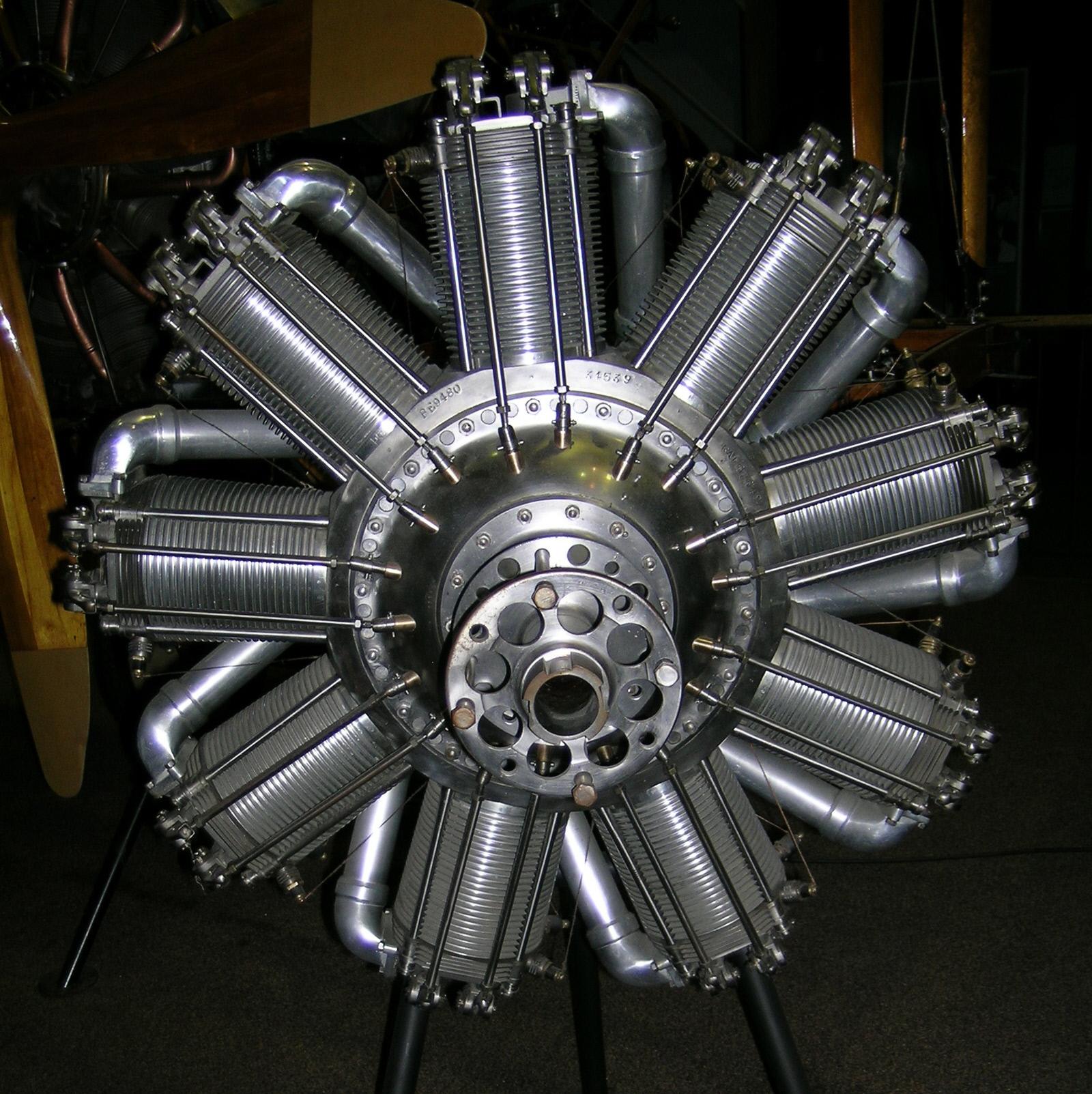 Image of : Humber Ltd. (Bentley) B.R.2, Rotary 9 Engine