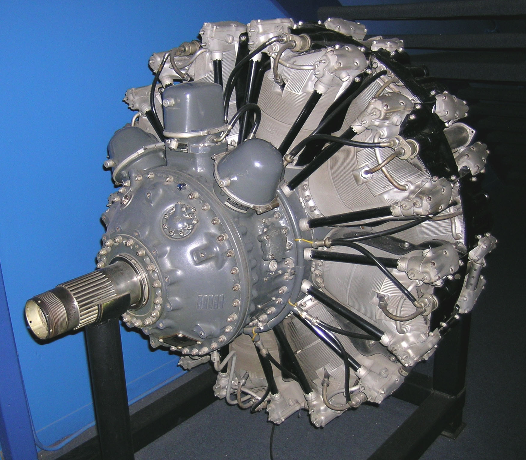 Image of : Pratt & Whitney Double Wasp R-2800 CB16, 2-Row, Radial 18 Engine