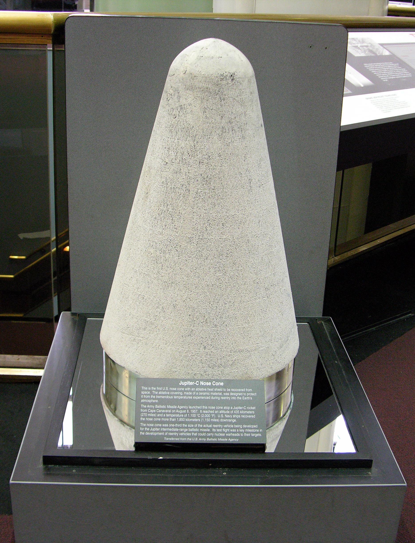 Image of : Nose Cone, Missile, Jupiter C