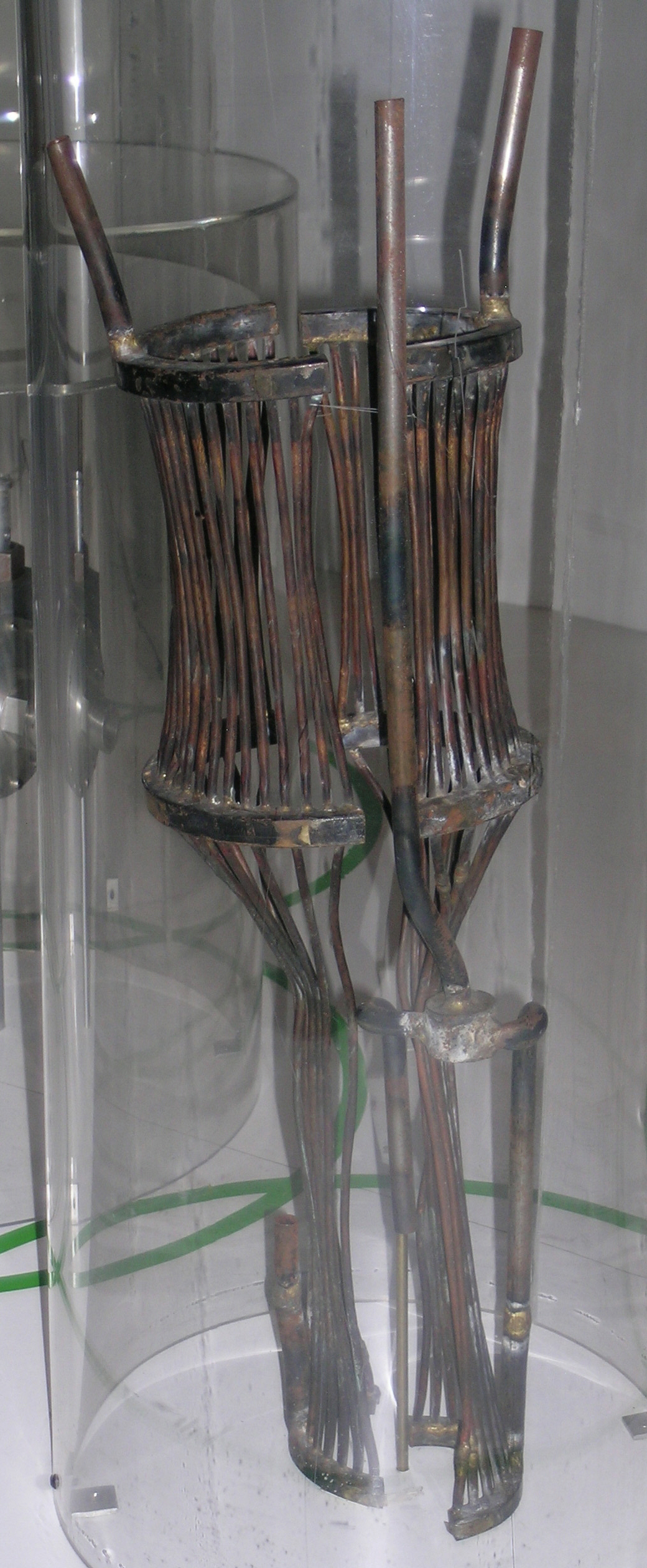 Image of : Cooling Jacket, Water, Rocket Motor, Goddard, Half