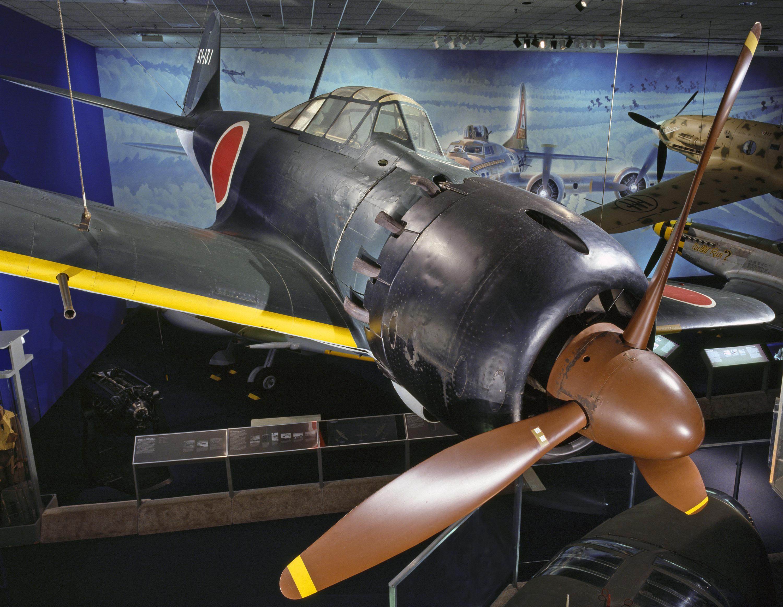 mitsubishi a6m5 reisen (zero fighter) model 52 zeke | national air