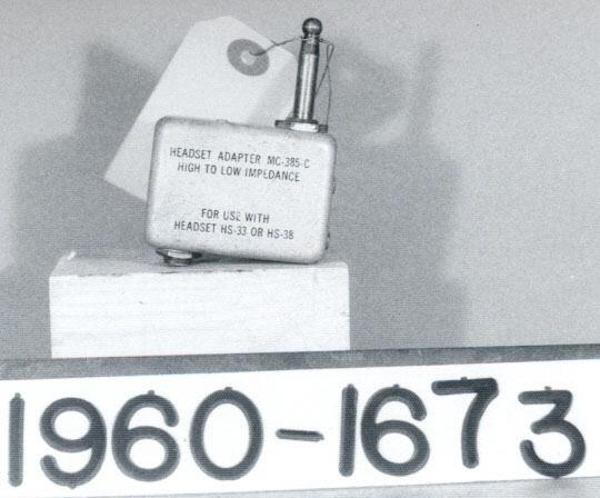 Image of : Adapter, Headset. MC-385C