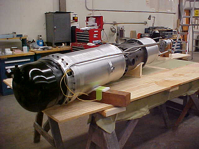 Image of : Propellant Tanks and Engine, BMW 109-558